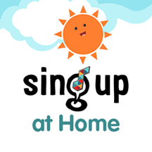 Sing at Home Logo